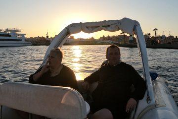 Speedboot Tour Schnorcheln Sonnenuntergang