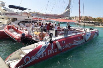 Segeltour Ocean Diva Katamaran
