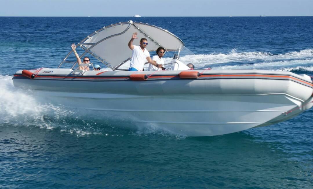Speedboot Marsa Alam Ausflug- Delfinschwimmen