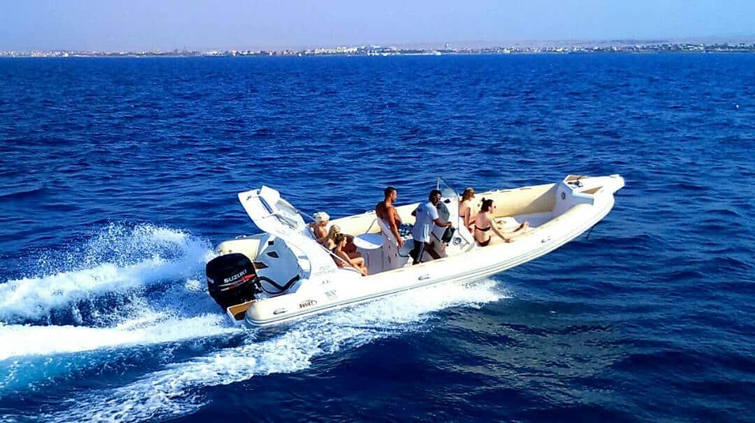 Speedboot Marsa Alam Ausflug