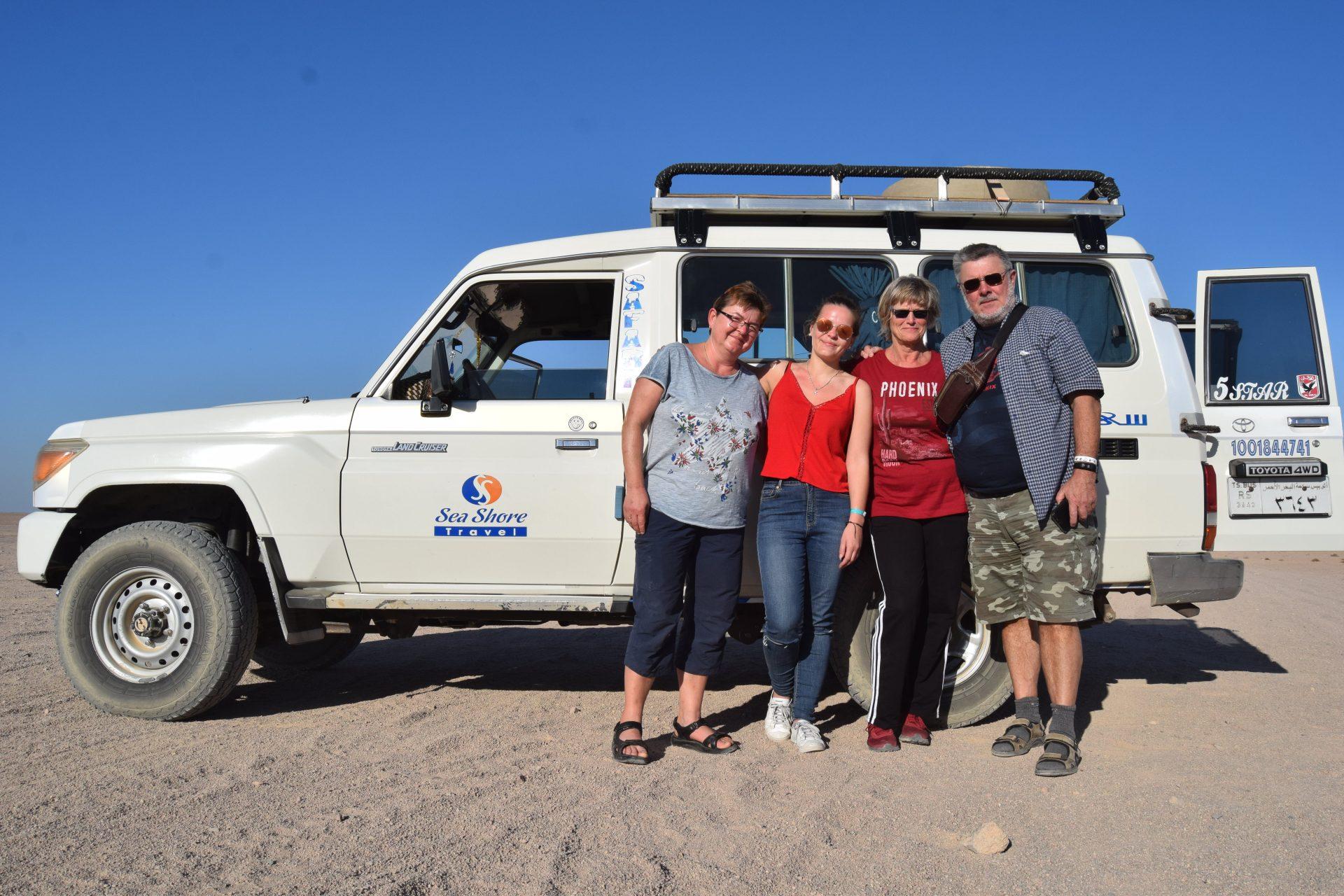Jeep Safari Ausflug Hurghada VORMITTAGS