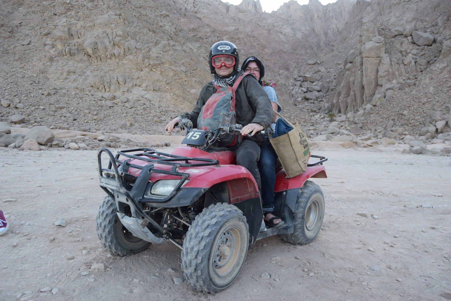 Exklusive private Quad Tour Hurghada | Vormittags