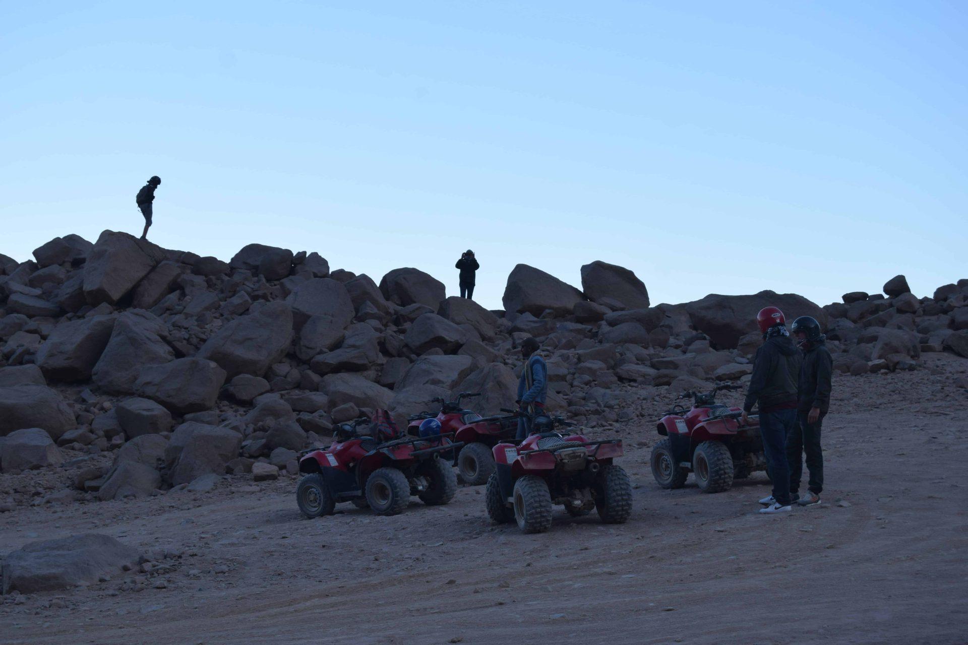 Privater Quad Ausflug Hurghada | Sonnenuntergang