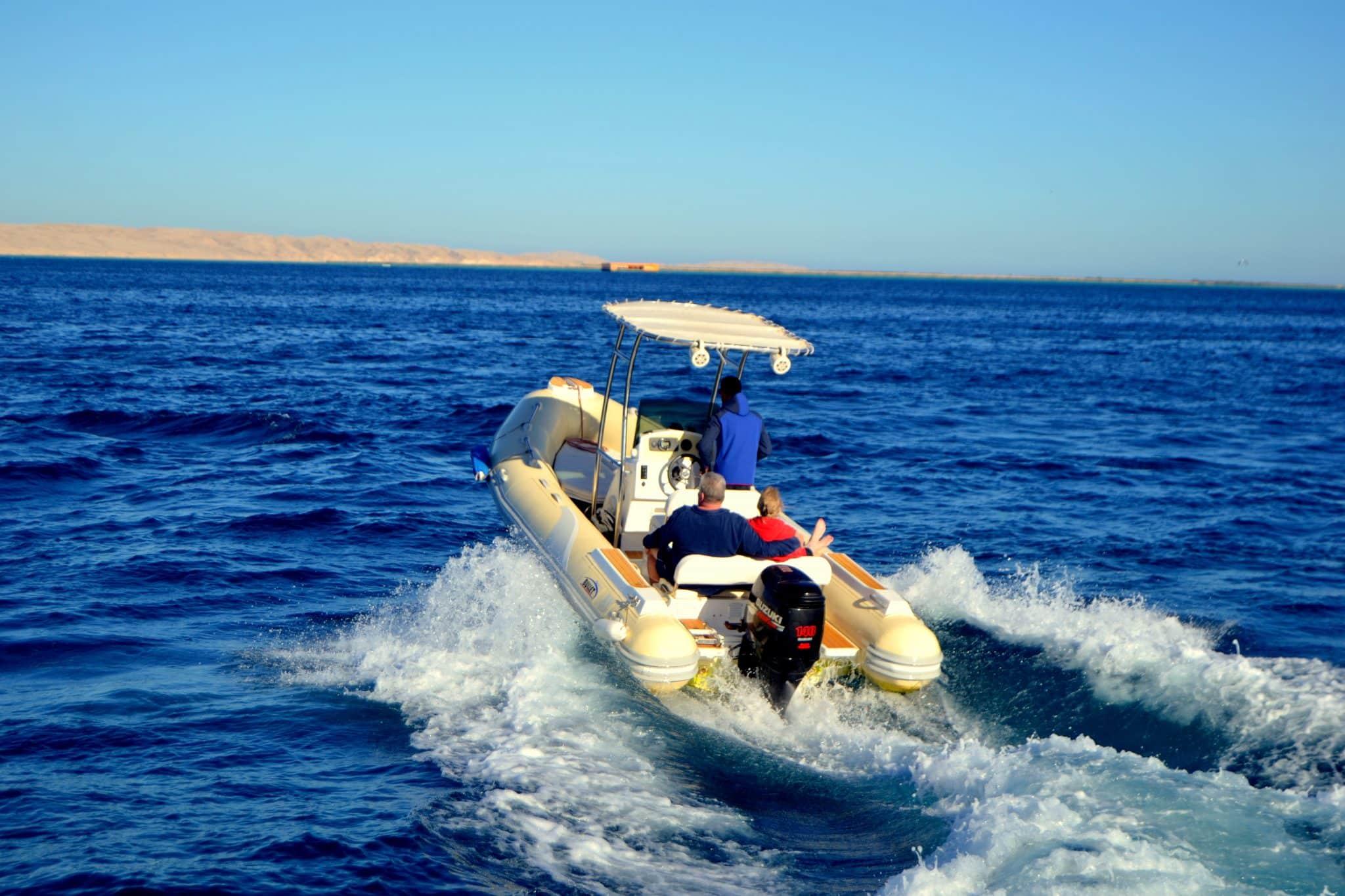 Speedboot Hurghada Delfinen Speedboat