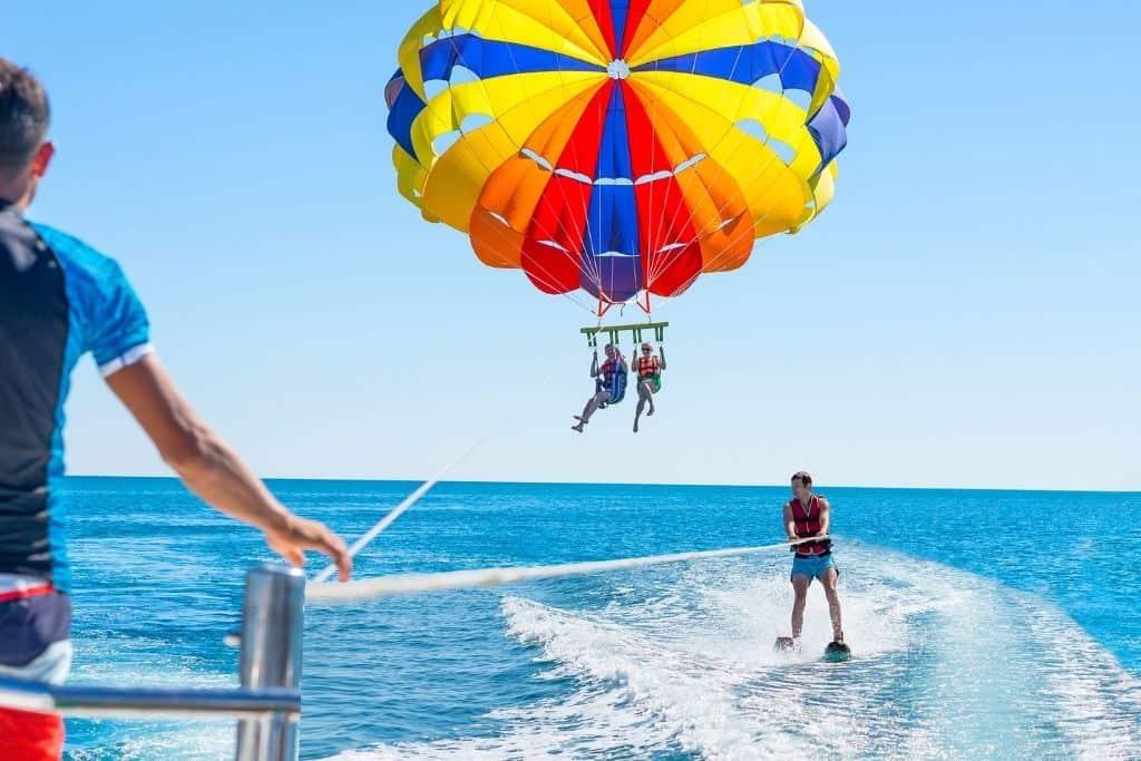 Parasailing in Hurghada   Mit privatem Transfer